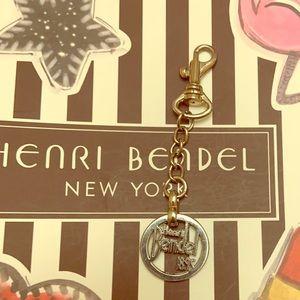 Henri Bendel Charm key/bag chain